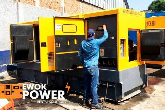 Los aspectos que debe considerar en la renta de generadores de luz | Power