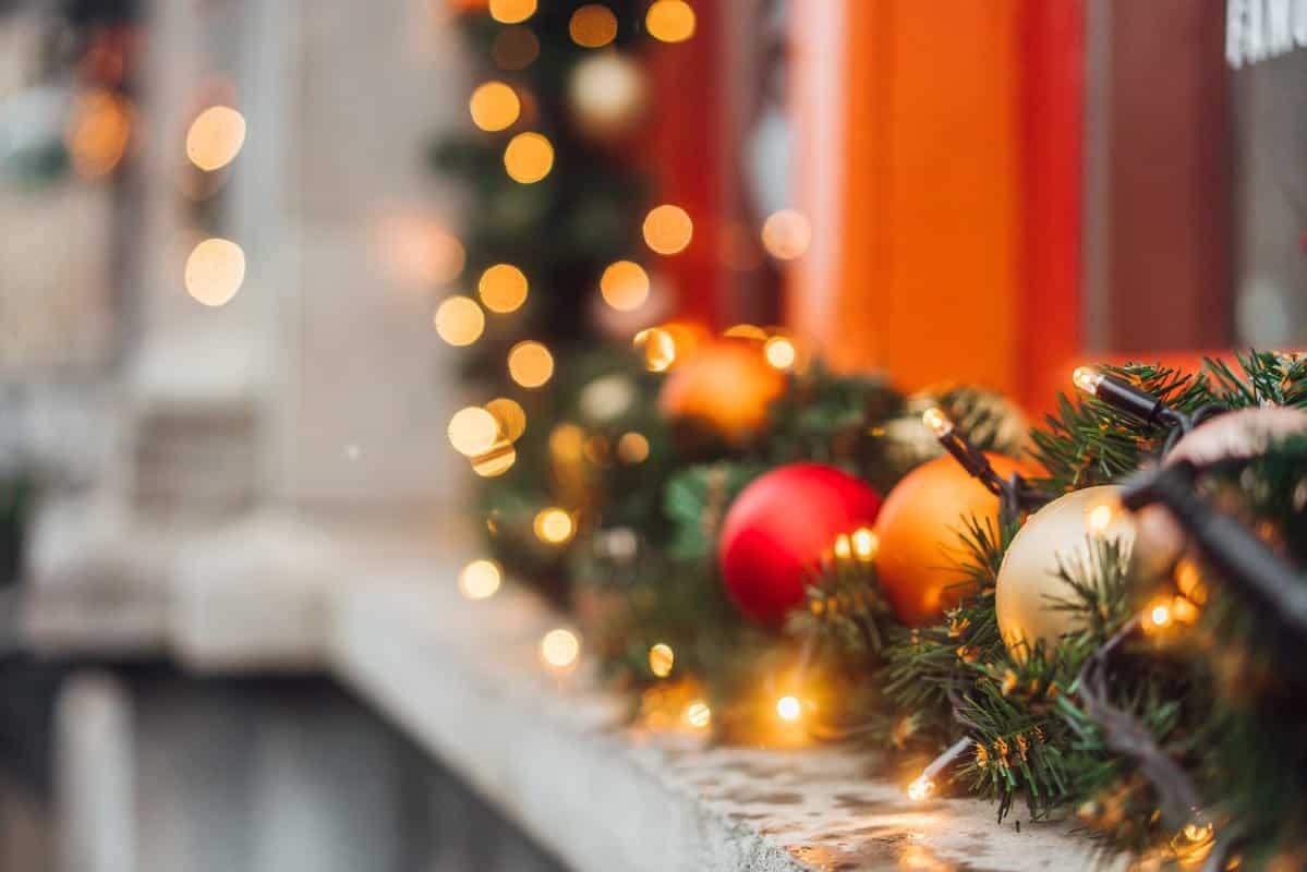 Decoración navideña para empresas e industrias