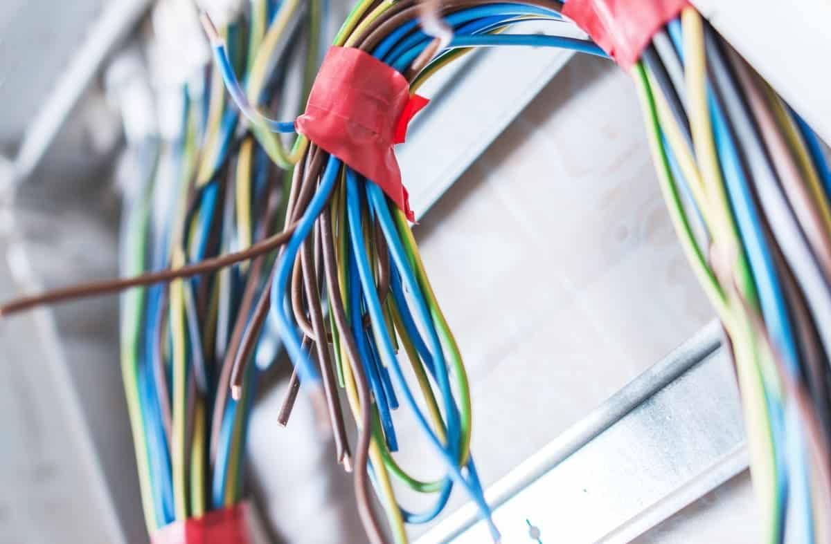 Código de colores en el cableado eléctrico