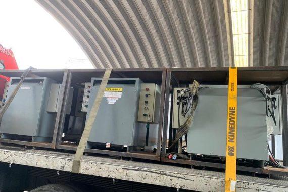 Distancia de seguridad y transformadores eléctricos
