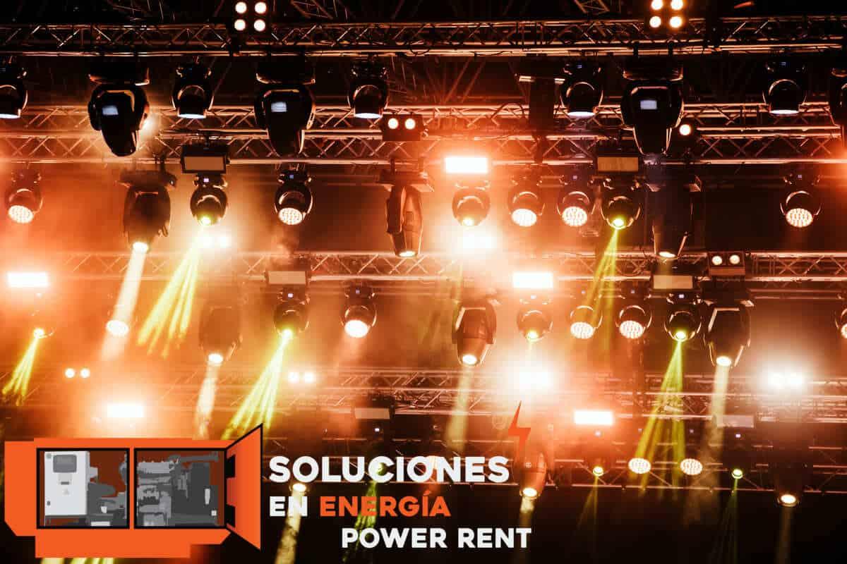 Renta de iluminación para eventos Renta de luces