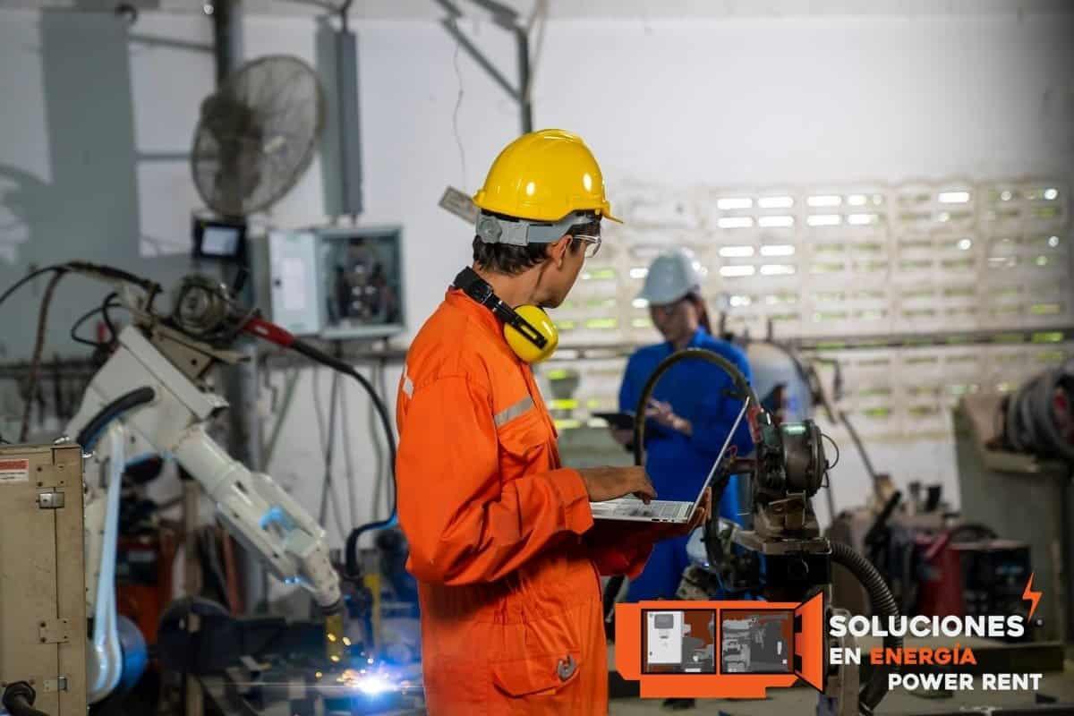 industria manufacturera plantas de luz