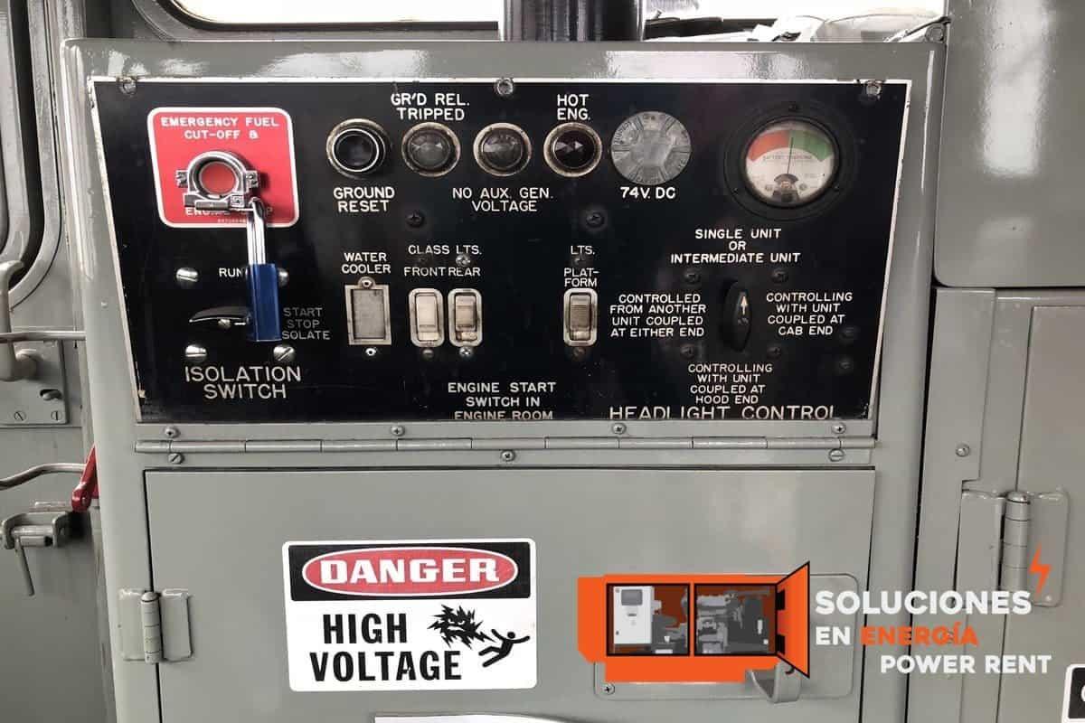 planta de corriente directa